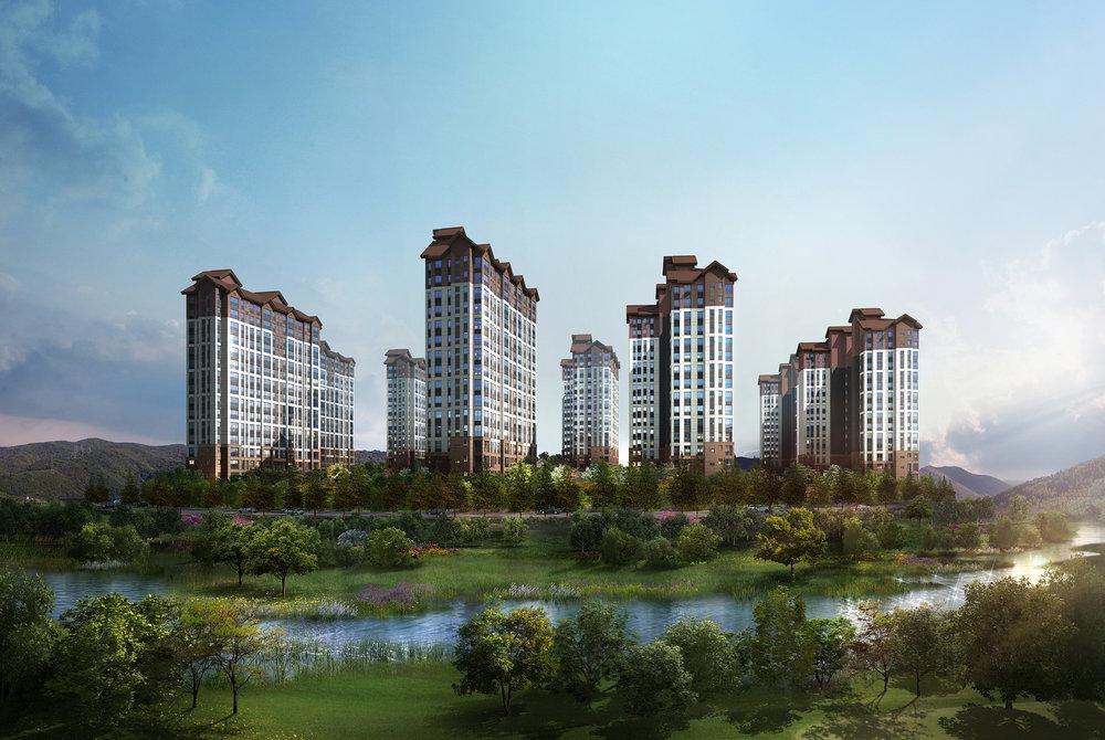 용평 리조트 올림픽 빌리지(2014)