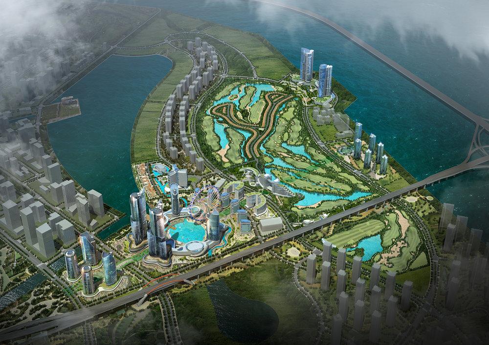 송도 신도시 랜드마크 개발사업 (2017)