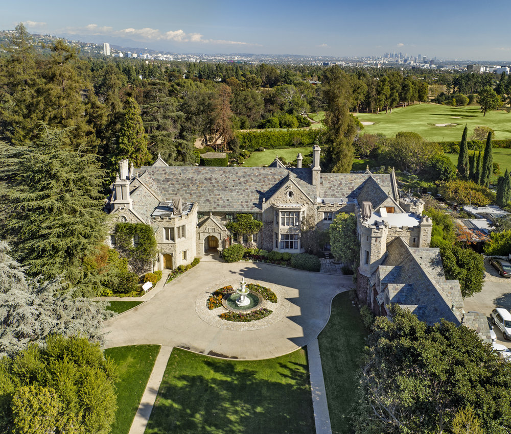 THE PLAYBOY MANSION -