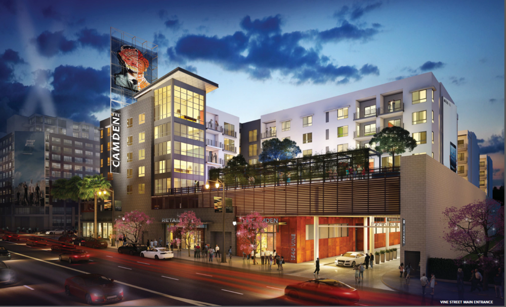 LEASED - The Camden Hollywood - Luxury Apartments by SBE