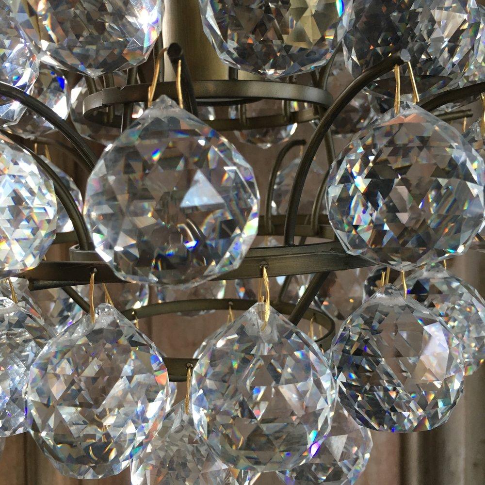 Ferry crystal ball chandelier urban design llc ferry crystal ball chandelier arubaitofo Images