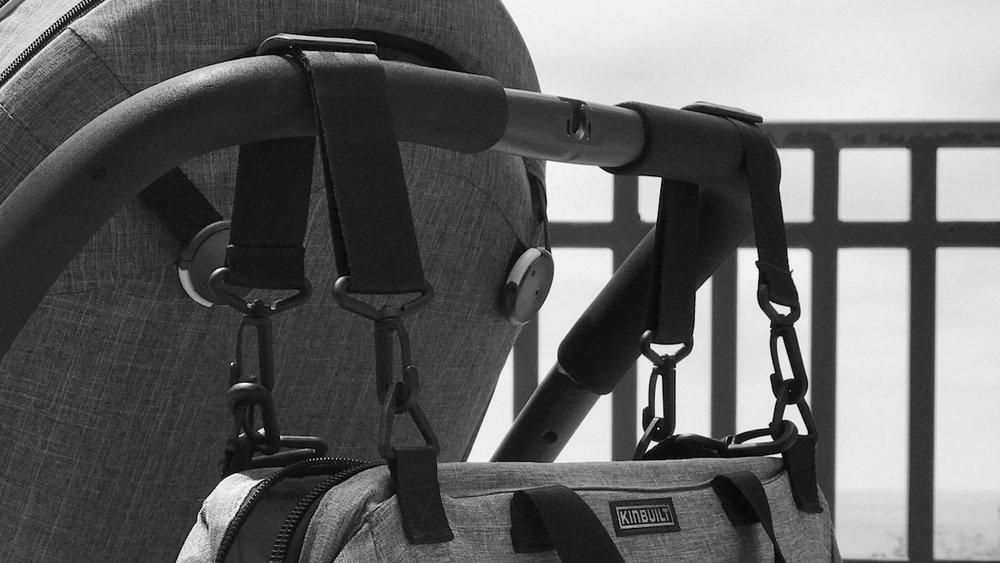 KINBUILT Diaper Bag Stroller Straps