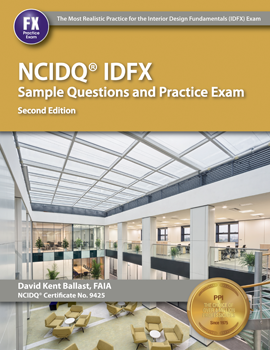 NCIDQ IDFX Sample Questions Practice Exam 2nd Edition