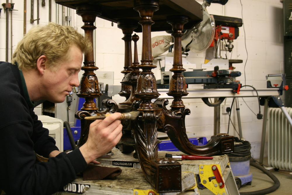 Exceptional Craftsmanship  using traditional tools of the trade