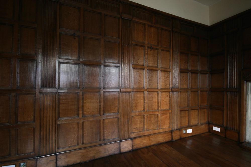 17th Century Oak Panneling in Kent - After Restoration