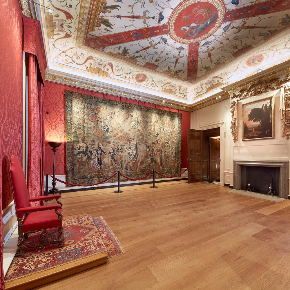 The Presence Chamber After Restoration at Kensington Palace