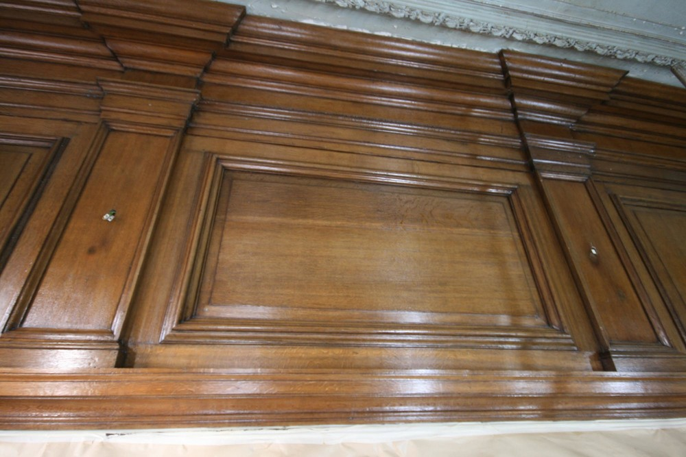 Oak panelling repair and restoration in sussex