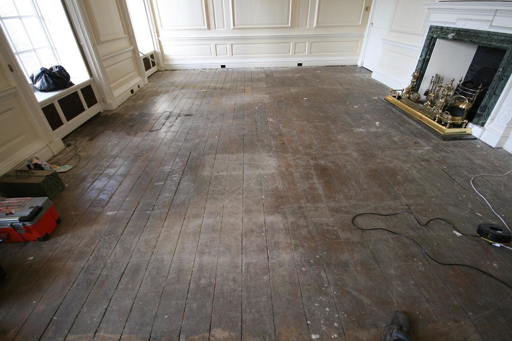 Oak flooring restoration country manor house sussex for Hill country wood flooring