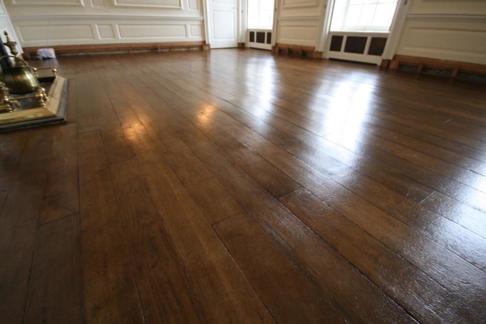 Hand finished oak flooring in Kent