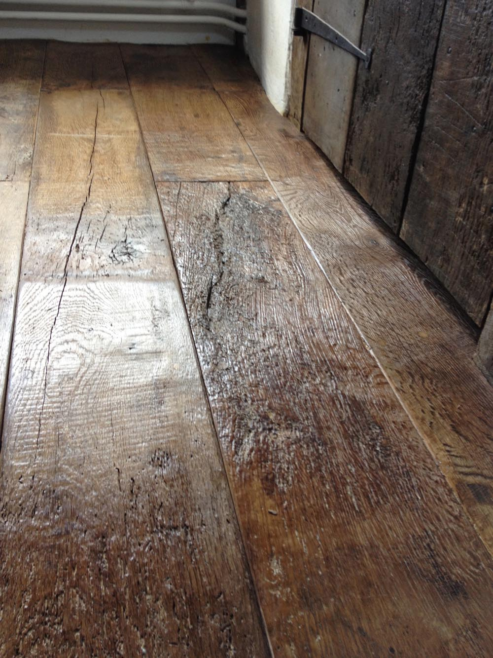 Reclaimed Oak Flooring Installation 17th Century Cottage