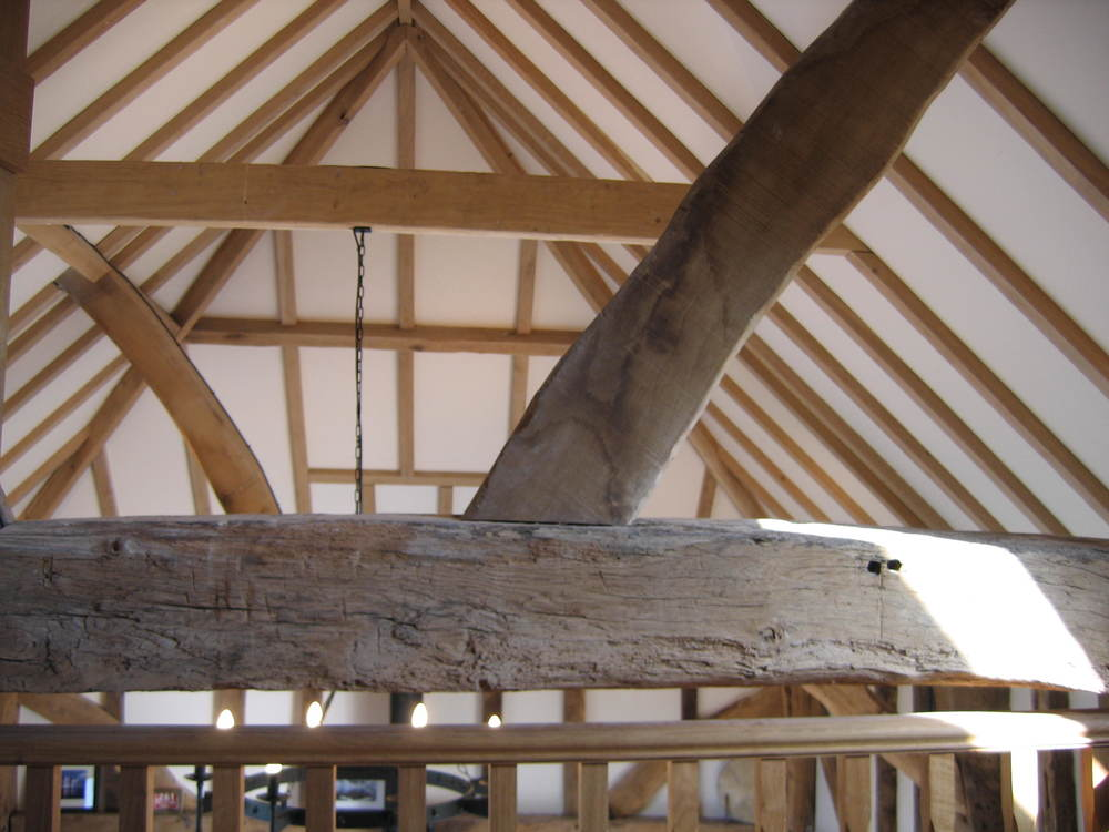 Oak beam restoration