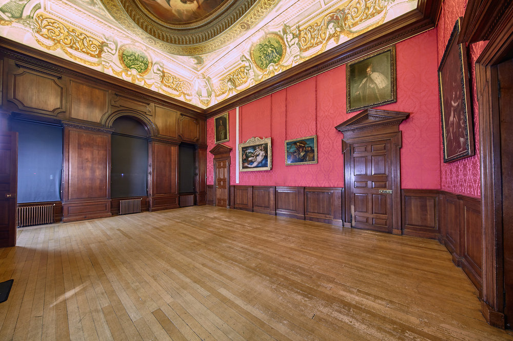 The King's Drawing Room where Peter the Wild Boy would sit on the floor after refusing to sit on chairs