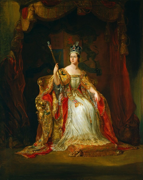 Coronation Portrait by Sir George Hayter, 1838