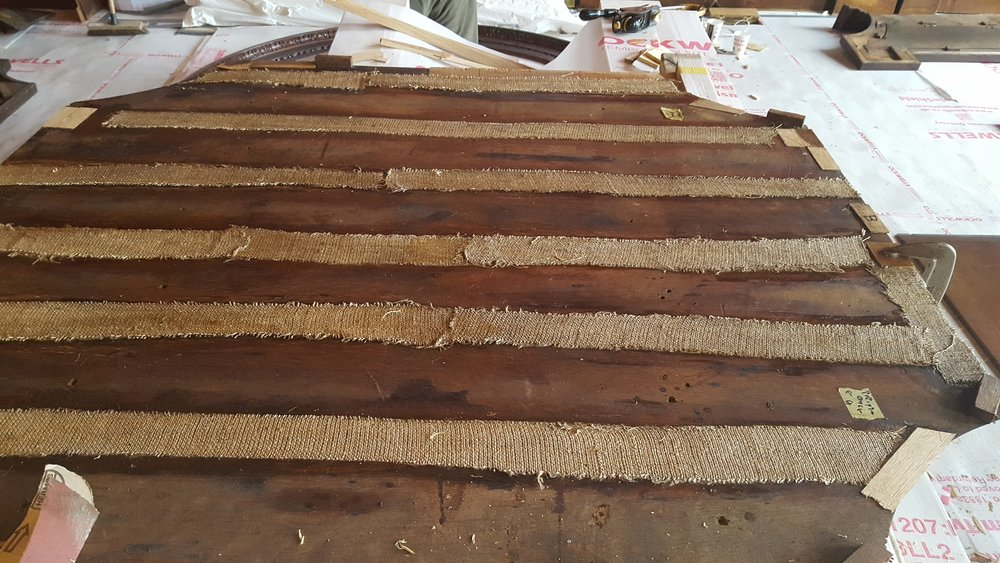 Hessian strips