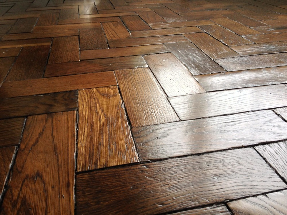 Reclaimed Parquet Oak Flooring