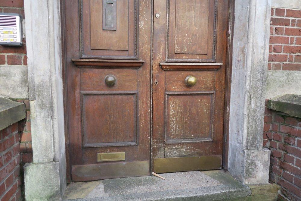 Canute Chambers doors