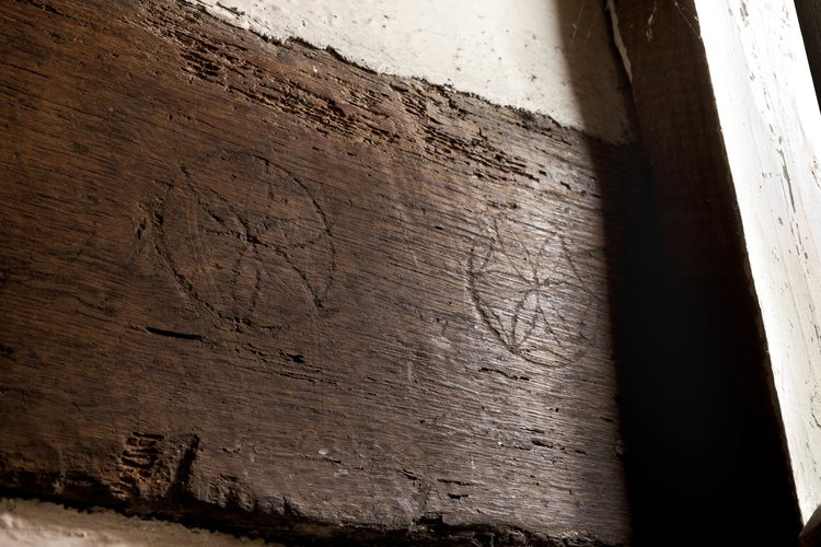 Marks found in the basement of Shakespeare's birthplace