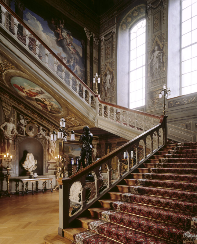 The Grand Staircase, Knole House, Kent