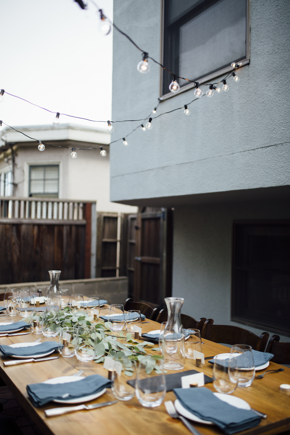 Intimate Backyard Dinner Party | Styled Shoot | Nataly Zigdon Photography | San Francisco