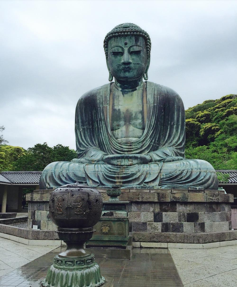 The Great Buddha - Kamakura Japan - Domo Arigato
