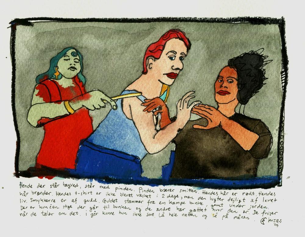 3 kvinder