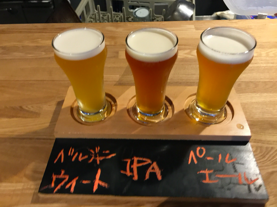 "Craft Beer - ""Made in Kyoto"" beer from their local brewery!"