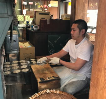 Rice cracker - Family owned business since 1913, freshly baked every morning