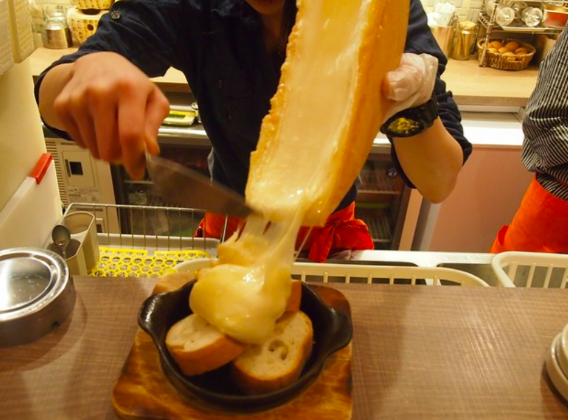Standing bar - Everyone loves cheese. We do too