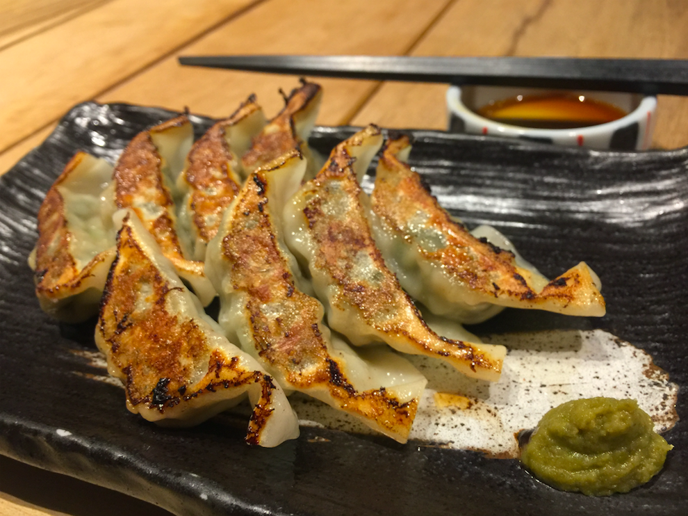 Gyoza - Good with spicy citrus paste