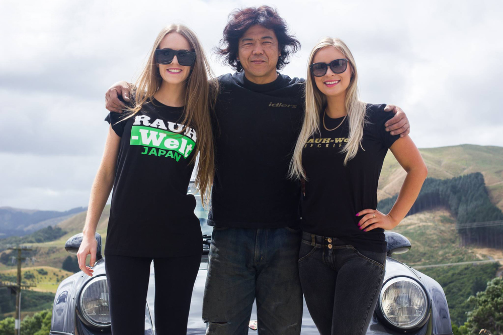 Favourite photo! Me, Akira Nakai and Vika.