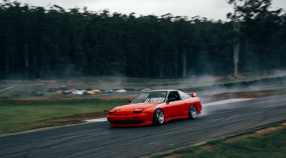 Oliver's 180sx taken at Halfway Hangs. Probably my favoruite drifting event of the year.
