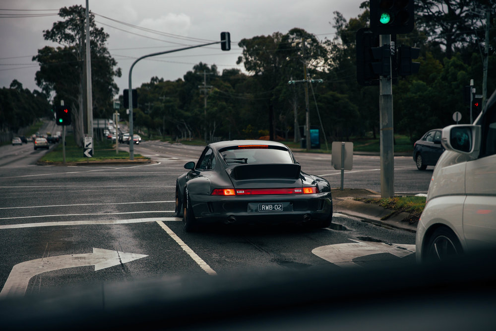 Following 'Chigiri' the second RWB in Australia after the build was complete in Melbourne. The amount of looks we got was insane, and I got to go for a drive in it shortly after this was taken.
