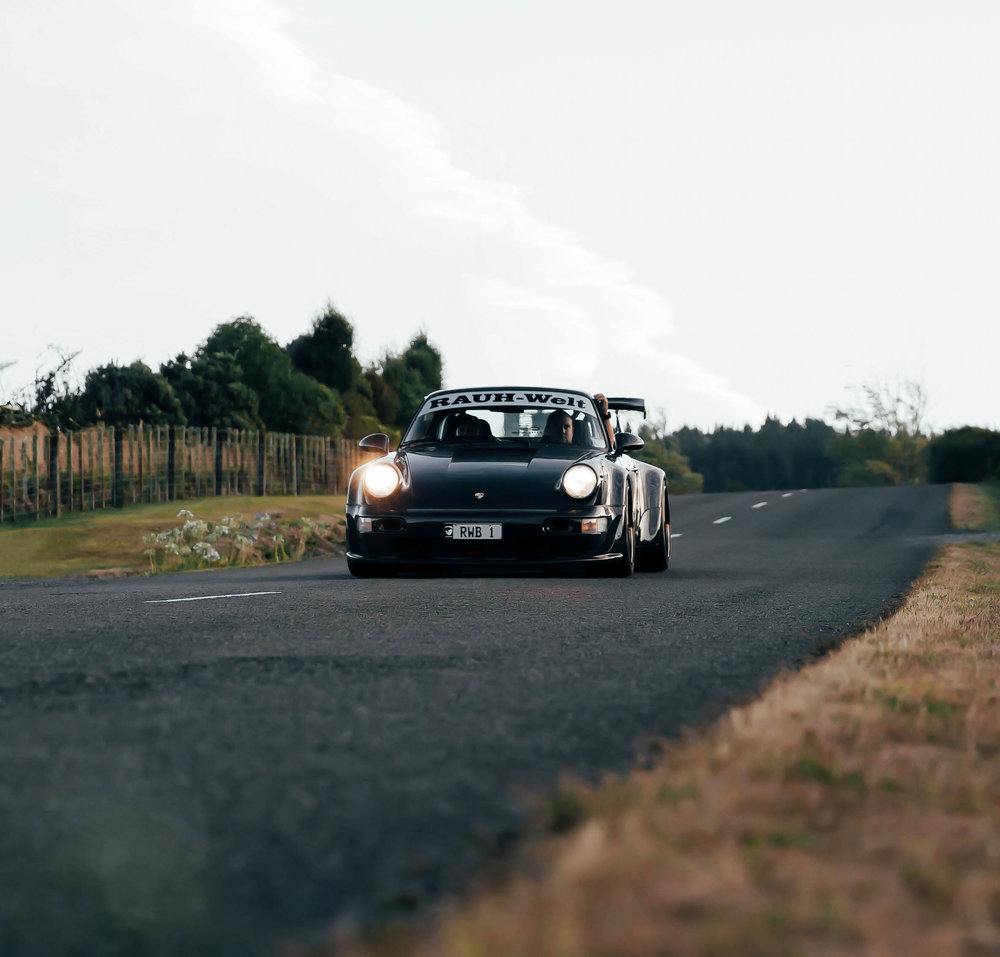 One of my favourite shots of the 'Waikato' RWB during its first drive in New Zealand. I captured this whilst lying down on the side of the road!