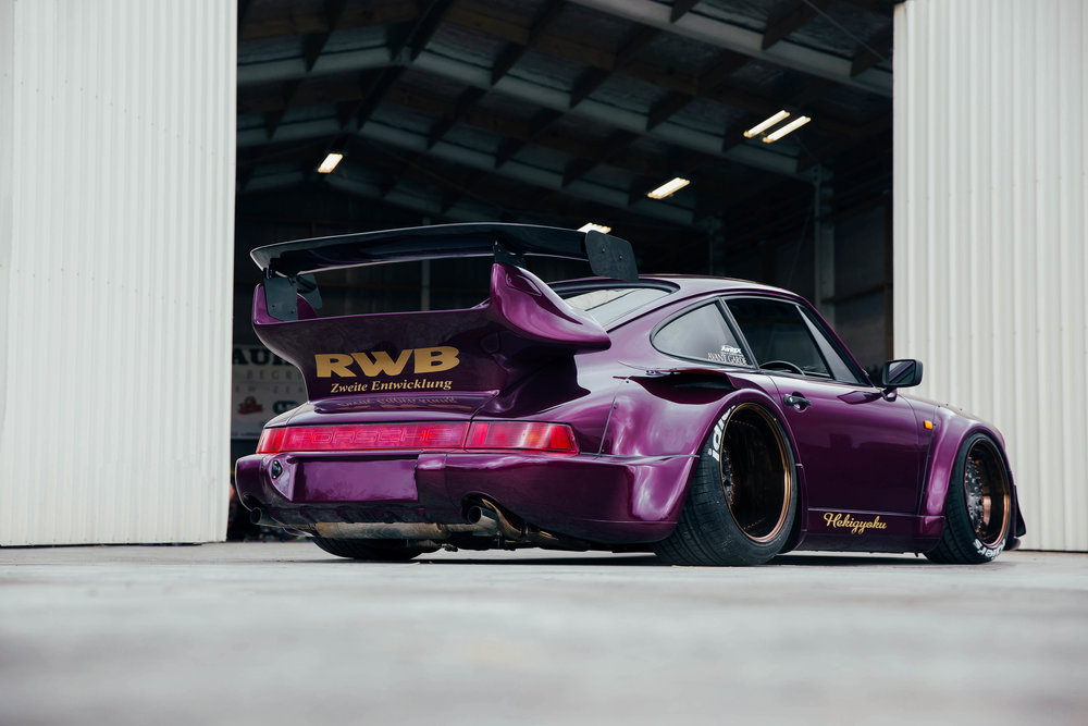 Hekigyoku. New Zealand's second RWB. How crazy is the colour!?