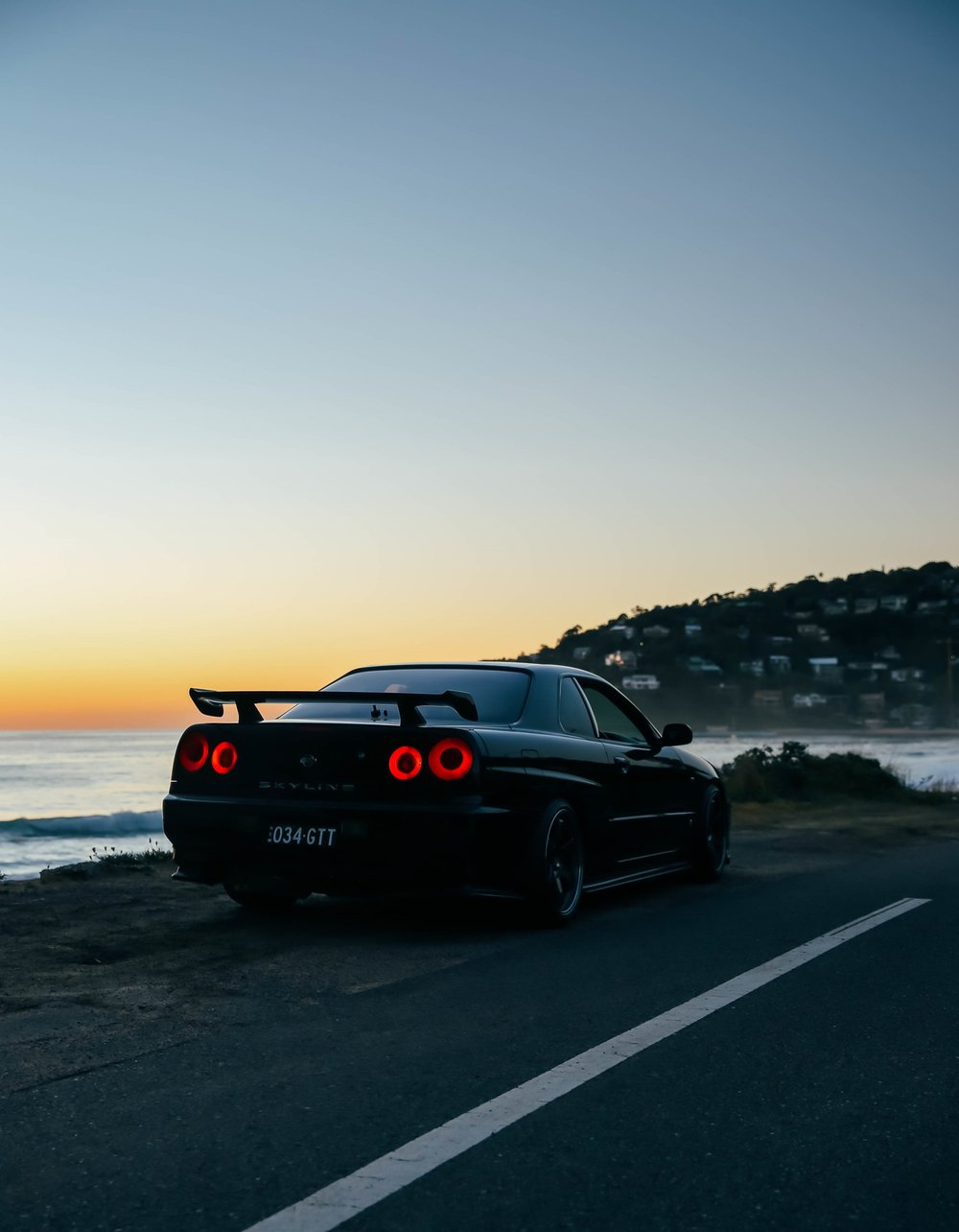 My R34 during the sunrise at one of my favourite spots in Palm Beach.