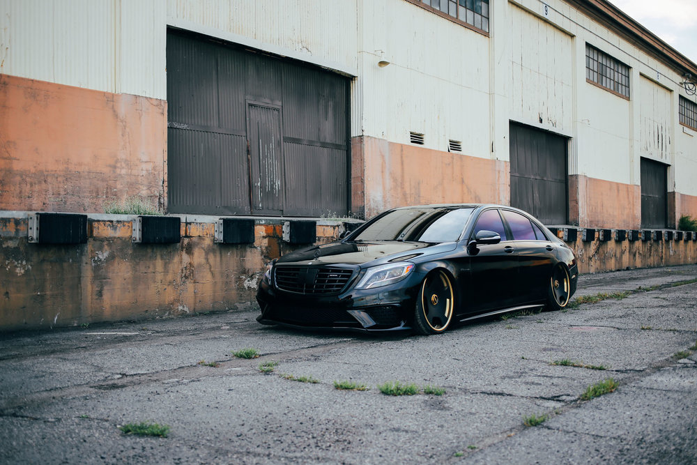 El Chapo Bagged Mercedes Benz S63 Stay Driven