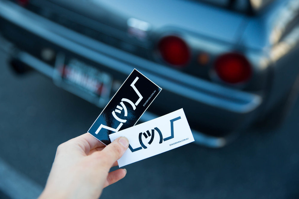NEW MINI ¯\_(ツ)_/¯ STICKERS - AVAILABLE FROM THE SHOP