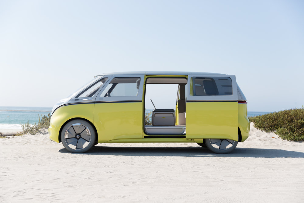 the new vw electric bus stay driven. Black Bedroom Furniture Sets. Home Design Ideas