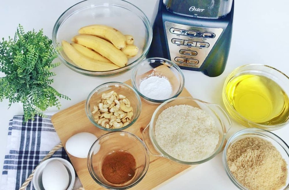 Banana Loaf Ingredients