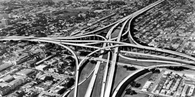 Image credit:Miami's Complex Midtown Interchange, circa 1960s Public Domain
