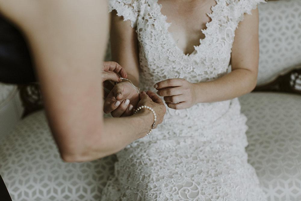 Wedding photography details bride