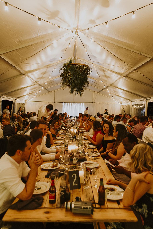 Wedding venue reception by ferguson Valley Events