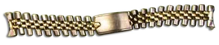 勞力士金鋼錶帶(修理前)