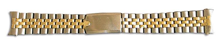 勞力士金鋼錶帶(修理後)