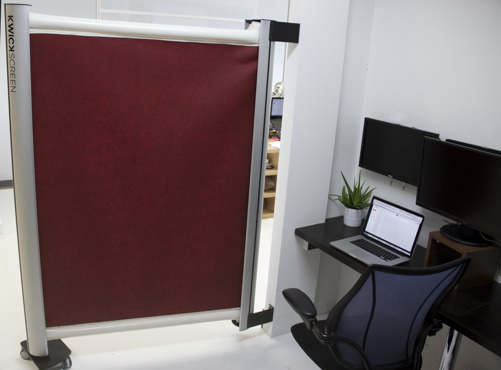 hospital privacy screens - KwickScreen