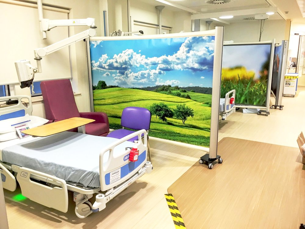 hospital privacy screens