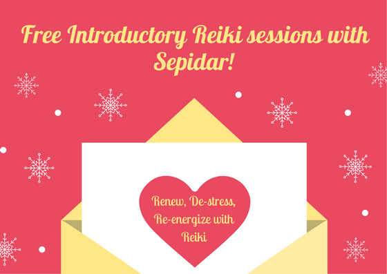 """In this FREE 30-minute """"Experience Peace with Reiki"""" session you will earn about the healing art of Reiki, and how it can support you in your emotional, mental, physical, and life goals! Schedule this free introductory Reiki session so you can feel its benefits for yourself! Leave the session feeling renewed, de-stressed, and re-energized!"""