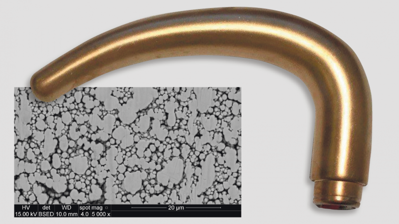 Anti-bacterial door handle. Image from Ing.dk