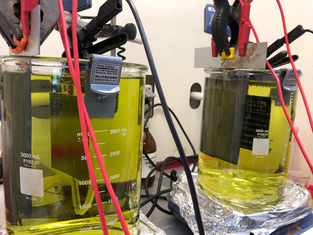 Electroplating setup - by Jacob Obitsø Nielsen