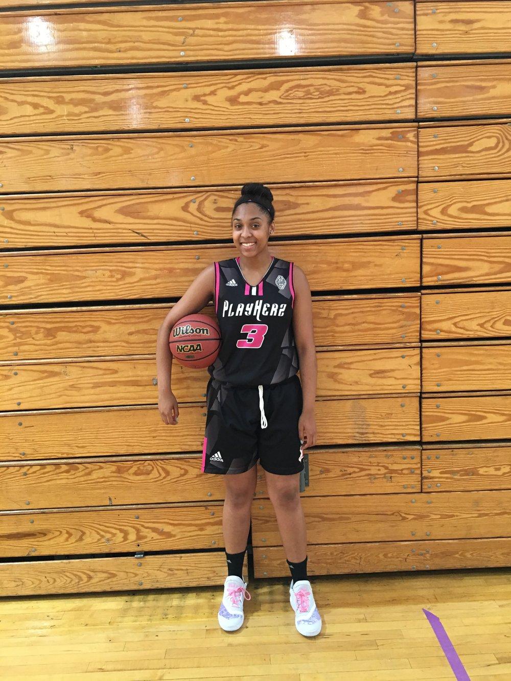 Jayla McDuffie Kennedy Paterson HS - 2017
